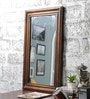 Teak Mango Wood Framed Mirror by Furniselan