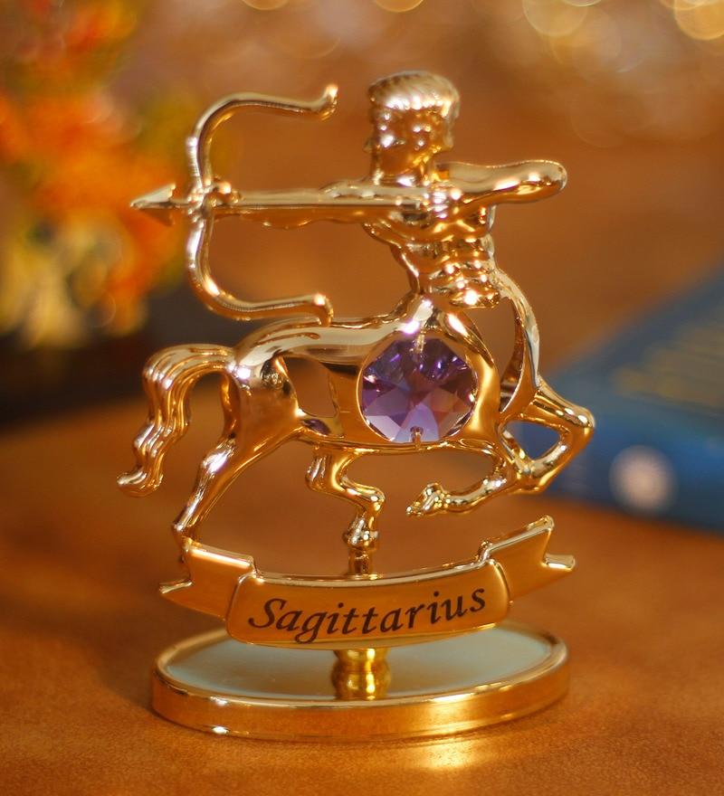 9745a4b650 Buy G n G 24K Gold Plated with Swarovski Crystals Sagittarius ...
