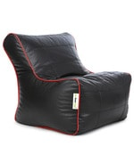 Gamer XXL Bean Bag Chair with Beans in Black & Red Colour