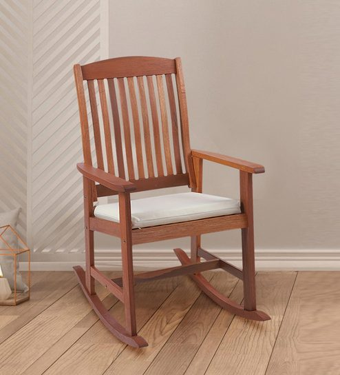 Wondrous Gataleg Rocking Chair In Natural Colour By Aura Squirreltailoven Fun Painted Chair Ideas Images Squirreltailovenorg