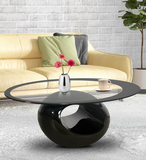 Phenomenal Gayle Coffee Table In Black Finish By Godrej Interio Gmtry Best Dining Table And Chair Ideas Images Gmtryco