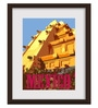 Gabambo Paper 12 x 1 x 16 Inch Vintage Mexico Travel Wood Finish Framed Poster
