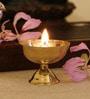 GAC Trend Gold Brass Akhand Jyoti Diya