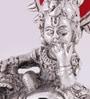 GAC Trend Silver Aluminum Shri Krishna Bal Gopal Statue