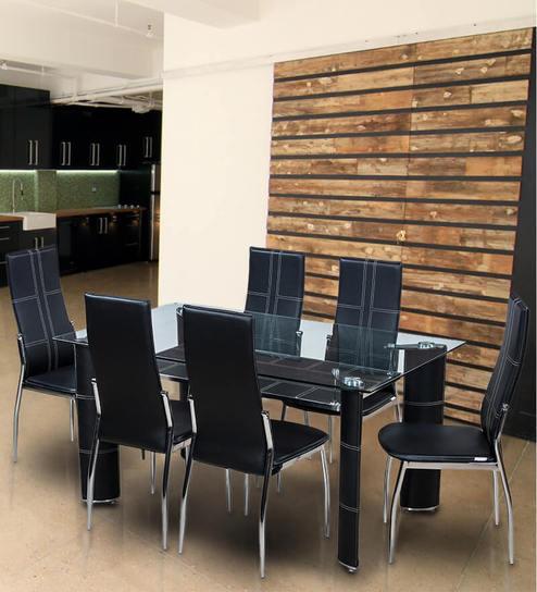 Buy geneva dining set six seater by royal oak online six seater geneva dining set six seater by royal oak solutioingenieria Gallery