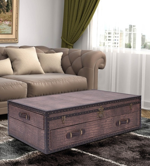 Leather Coffee Table 2