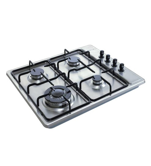 Buy Gilma 4 Burner Stainless Steel Hob Online - Hobs - Cooktops ...