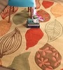 Girton Carpet 63 x 91 Inch in Red by Amberville