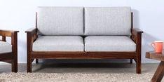 Glentana Two Seater Sofa in Provincial Teak Finish