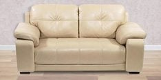 Gloria Two Seater Sofa in Beige Colour