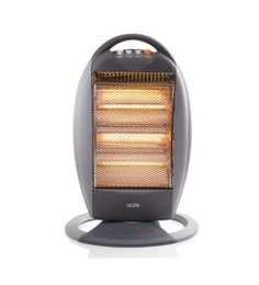 Glen Gl 7016 1200 Watts Halogen Room Heater