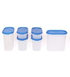 Gluman Modular Blue Storage Container - Set Of 6