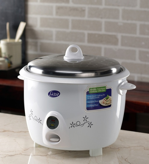 347b9af8b Buy 950 W Aluminium Rice Cooker- 2.8 Ltr Online - Electric Cookers - Cookers  - Kitchenware - Pepperfry Product