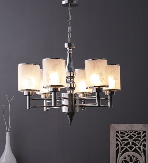 Gl Chandeliers Silver By Learc Designer Lighting