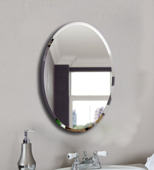 Gl Oval Wall Mirror In