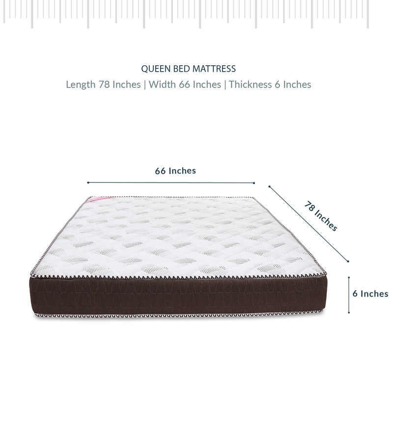 Buy Gloria Elite 78x66x6 Inch Double Bed Mattress By