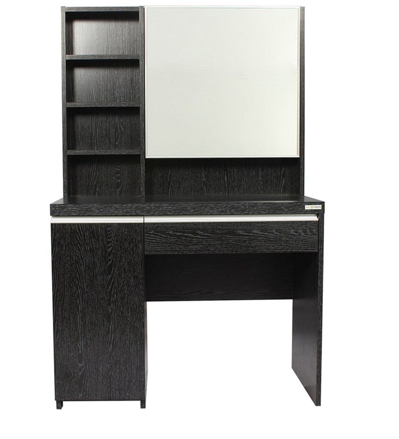 Buy gloriosa dressing cum study table in wenge colour by godrej interio online dressing tables - Dressing wenge ...