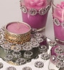Pink Candle Set by Candles N Beyond