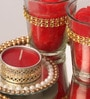 Red Candle Set by Candles N Beyond
