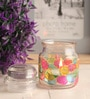 Multicolour Glass Tea Light Holder by Gupta Glass Gallery