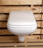 Glocera Fairy White Ceramic Water Closet