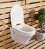 Glocera Piano White Ceramic Water Closet