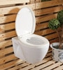 Glocera Strom White Ceramic Water Closet