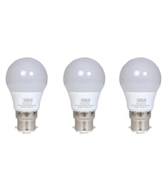 GM Evo White 3W Led Bulbs - Set Of 3