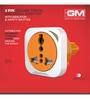 GM Multicolour 3.7 x 1.9 x 2.1 Inch 2 Pin Square Universal Travel Adaptor