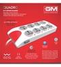 GM Quadro Multicolour 4.9 x 1.5 x 24.4 Inch 8+1 Spike Guard