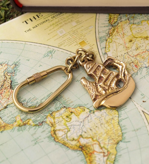 Maritime Brass Keychain Hooks Lot 100 For Telescope Magnifier Nautical Mini Keyrings 50% OFF Antiques