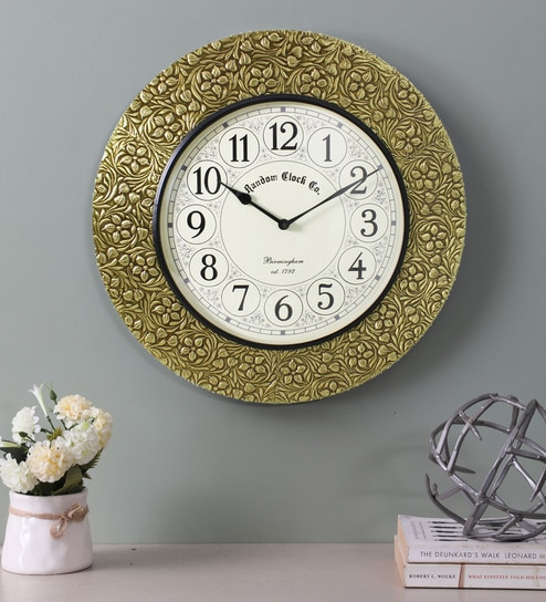 World Time Clock Vintage style Brass Wooden Wall Clock~Wall Decor Nautical Gift