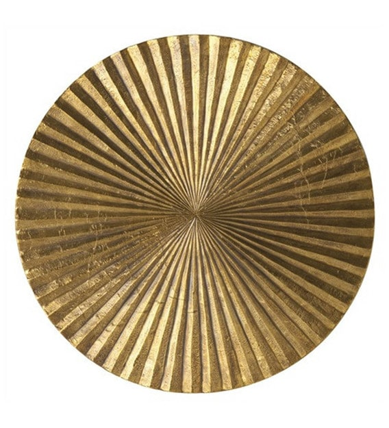 Buy Gold Metal Decorative Wall Art - Set Of 6 by Craftter ...