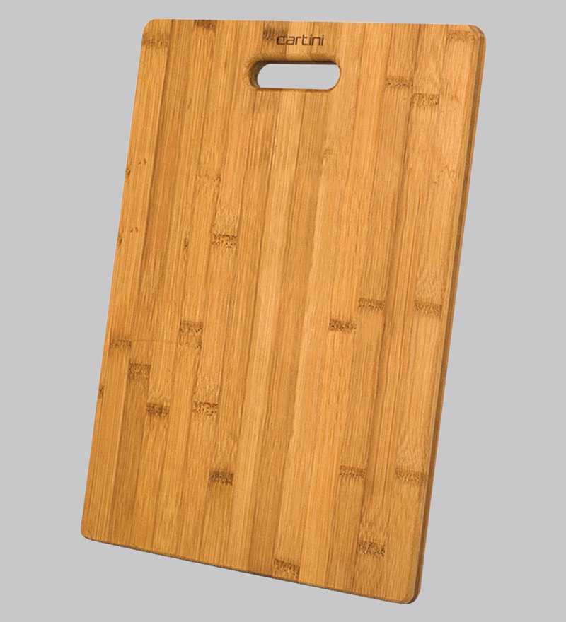 Buy Godrej Cartini Brown Wood Chopping Board Online