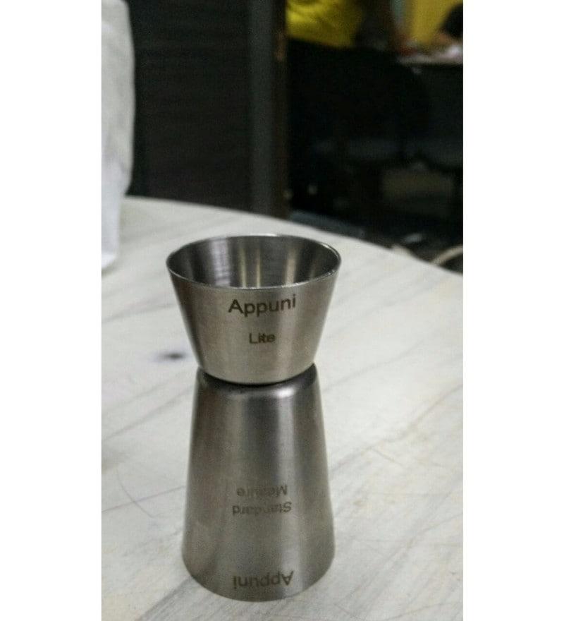 Gods Kitchen Stainless Steel Peg Measure