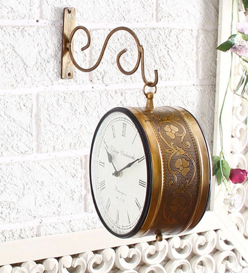 Wall Clock By Unravel India