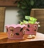 Pink Designer Planter - Set of 2 by Go Hooked