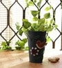 Drak Green Long Pot Planter by Go Hooked