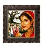 MDF 12 x 1 x 12 Inch Beautiful Girls Framed Art Print by Go Hooked