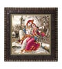 MDF 12 x 1 x 12 Inch Krishna Jungle Framed Art Print by Go Hooked
