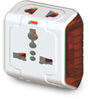 Goldmedal Spice 3-pin Universal Travel Adaptor