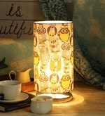 Multicolour Cotton Table Lamp