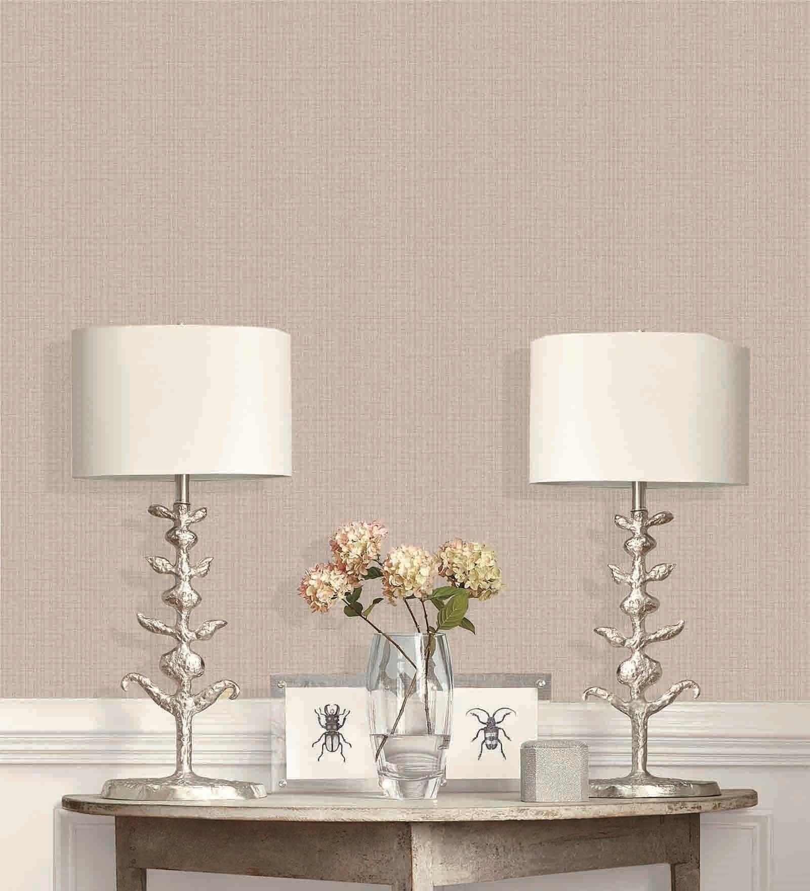 Grey PVC 394 x 21 Inch Wallpaper by Presto
