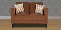 Greenwich Two Seater Sofa in Caramel Brown Colour