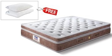 Grand Palais Queen Size 8 Inch  Pocket Spring Pocket Spring Mattress