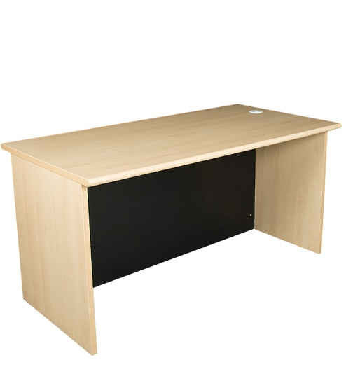 Buy Grand Office cum Study Table in Beach Colour by Pine Crest Online -  Modern - Study   Laptop Tables - Pepperfry 621d6a182