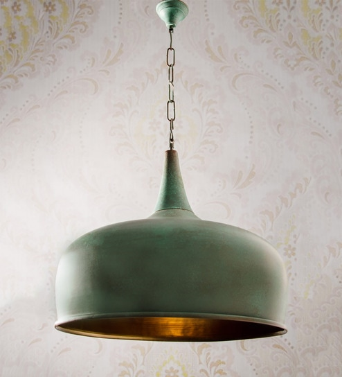 364c01e8d661 Buy Green Steel Hanging Light by Fos Lighting Online - Contemporary Hanging  Lights - Hanging Lights - Lamps & Lighting - Pepperfry Product