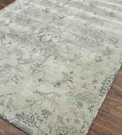Viscose Hand Tufted 60X96 Inch