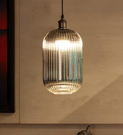 Grey Gl Lucetta Hanging Light By Kapoor E Illuminations