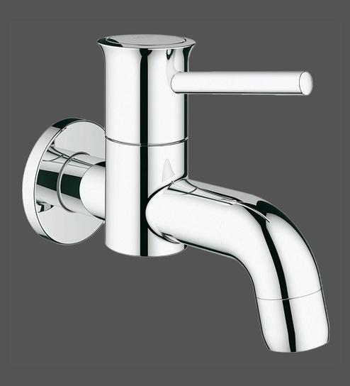 Grohe Bauclassic Chrome Brass Wall Bath Tap (Model: 20239000) Best ...